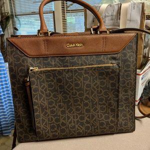 Calvin Klein large satchel nwot